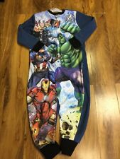 Marvel Avengers Boys Fleece One Piece Aged 7-8 Years Old BNWT