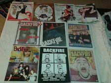 Lot 11 seattle zines exotic underground magazine 2007 2008 backfire 1983 2001/02