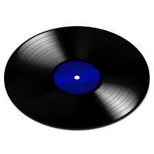 VINYL RECORD DISC BLUE Turntable Player DJ Mixer Funny PC Computer Mouse Mat Pad