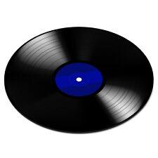 Vinile RECORD DISCO BLU GIRADISCHI LETTORE DJ MIXER divertente PC Computer TAPPETINO MOUSE PAD