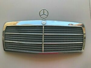 1984-1993 Mercedes-Benz 190E Front Grille with Hood Ornament OEM