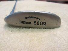Wilson staff original 8802 golf putter leather grip