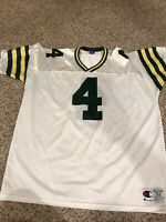 Vintage Champion Green Bay Packers Brett Favre NFL Jersey Size 52 Farve