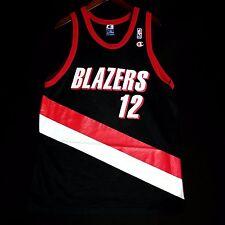 100% Authentic Detlef Schrempf Champion Blazers NBA Jersey Size 48 XL