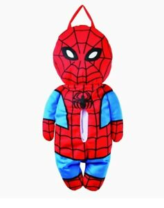 Marvel Spiderman Tissue Box Cover Holder Kawaii Cute Plush