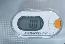 EUC Sportline 310 Qlip Pedometer Digital accuracy Step Counter W Instructions