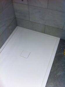 Matki Bespoke marble stone resin Shower Tray