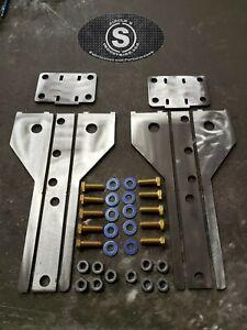 Fits 1986-2001 Jeep Cherokee XJ Rear Bumper Brackets DIY Fabrication Ver. 2