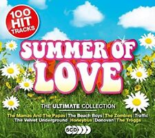ULTIMATE SUMMER OF LOVE (THE BEACH BOYS, THE MAMAS AND THE PAPAS, ...) 5 CD NEW!
