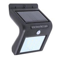 4x 30LED Solar Powered Light PIR Motion Sensor Outdoor Garden Security Wall Lamp