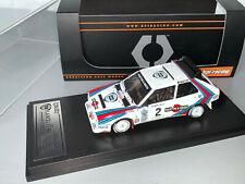 RALLY 1/43 RARE HPI LANCIA DELTA S4 MARKKU ALEN OLYMPUS USA 1986 GROUP B WRC