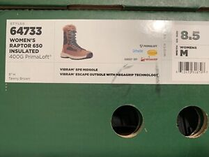 **Sale**Danner Boots Womens Raptor 650 Insulated Size 8.5 (39.5) Brown**