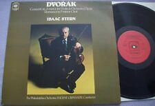 ISAAC STERN Dvorak Violin Concerto A Minor NEAR MINT UK CBS DEMO STAMPED LP