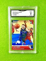 LUKA DONCIC ROOKIE CARD GRADED GMA 9 MINT 1 of 902 SP RC  2018-19 Panini INSTANT