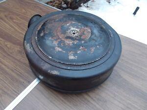 Real Vintage Steel 55 56 57 Hudson ? 'United' Oil Bath Air Cleaner Packard AMC ?