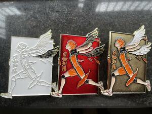 Anime Haikyuu Shoyo Hinata Wing Metal Badge Brooch Pin Collection Gift