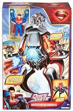 Superman Batalla Metropolis Quick Shots Figuras
