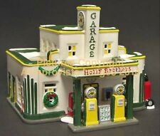 Snow Village Dept 56 HOLLY BROTHERS GARAGE! 54854 NeW! MINT! FabULoUs!