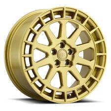 15 inch 15x7 Black Rhino Boxer Gold wheel rim 5x4.5 5x114.3 +15