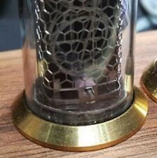 Set of 6 Vintage Brass Rings IN-14, IN-8, IN-8-2, Z570, Z573, LC531 Nixie Tubes