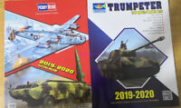 2019-2020 HobbyBoss &Trumpeter CATALOGUE Newest Models Books