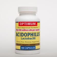 McK Optimum Acidophilus Probiotic Dietary Supplement 100 per Bottle Tablet