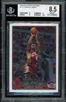 Lebron James Rookie Card 2003-04 Topps Chrome #111 BGS 8.5 (9 8 9 9.5)