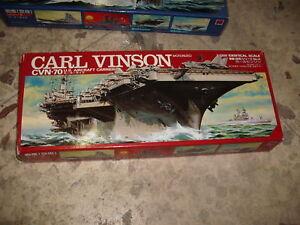 1/1300 US Aircraft Carrier Carl Vinson Motorized Kit