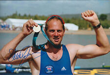 Sir Steve REDGRAVE Signed Photo Autograph AFTAL COA Sydney OLYMPICS Rower