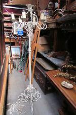 ancien lampadaire d'interieur torchere fer forgé 1940 vintage design st L XV