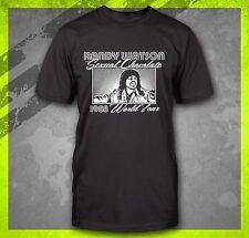 RANDY WATSON SEXUAL CHOCOLATE FUNNY COMING TO AMERICA 1980'S RETRO T-SHIRT TEE