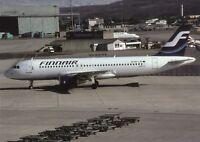 Finnair , Airbus A320 ,Ansichtskarte, ungel.