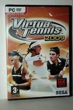 VIRTUA TENNIS 2009 GIOCO NUOVO PC DVD VERSIONE ITALIANA VBC 42567