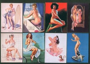Pinups Uncovered 21st Century Archives - 1996  set complet