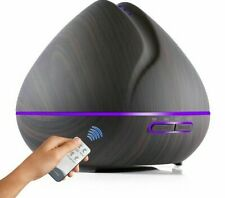 Remote Control Airs Aroma Ultrasonic Humidifier With Colors LED Lights Electric