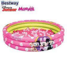 Bestway Bassin Gonflable Minnie Mouse avec 75 balles de jeu piscine pour enfants
