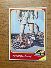 1993 Kenner Jurassic Park Muldoon with T-rex Hatchling #2