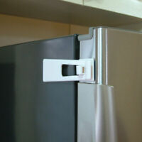 Dreambaby  White  Plastic Adhesive  Appliance Latch  1 in.
