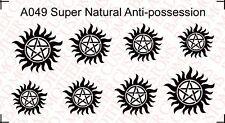 1/6 Custom Supernatural Antipossession Tattoos - Waterslide Decals (Improved)