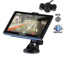 XGODY 7 Inch GPS Navigation Navigator 8GB FM Waterproof reverse camera wireless