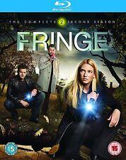 FRINGE Complete Series 2 Blu Ray Box Set New Season Sealed Sci-Fi Second 2nd UK
