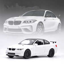 BMW M3 GTS Model Cars 1:32 Toys Sound&Light Collection&Gifts Alloy Diecast White