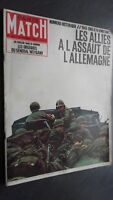 Rivista Parigi Match N° 827 Febbraio 1965 I Allies Di' Di GERMANIA
