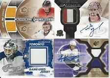 2010-11 UPPER DECK THE CUP CAM WARD SIGNATURE PATCHES AUTOGRAPH 41/75