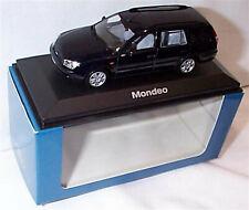 Ford Mondeo MK3 Estate 2000 Dark Blue 1-43 scale Minichamps new in Case boxed