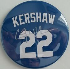 Los Angeles Dodgers CLAYTON KERSHAW #22 Blue Magnet Set Of 5 Size 3X3 Inches New