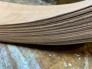 Highly FIgured cherry veneer , 48 matched sheets huge lot over 130 square feet!
