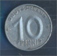 DDR Jägernr: 1507 1953 E vorzüglich Aluminium 1953 10 Pfennig (7849360