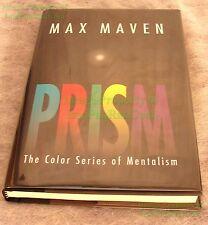 Prism Color Series of Mentalist Max Maven 2005 1st Print Hardcover Dust Jacket