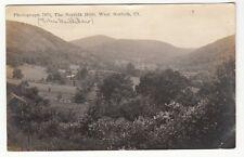 [60609] 1913 Real Photo Postcard The Norfolk Hills, West Norfolk, Connecticut